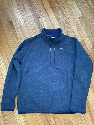 Patagonia Men's Better Sweater 1/4 Zip LARGE for Sale in Walnut Creek, CA