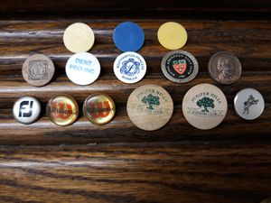 Vintage golf club markers for Sale in Twin Falls, ID