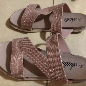Sandals shimmer for Sale in Miami Springs, FL