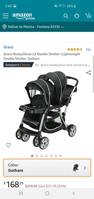 Double stroller graco for Sale in Fontana, CA