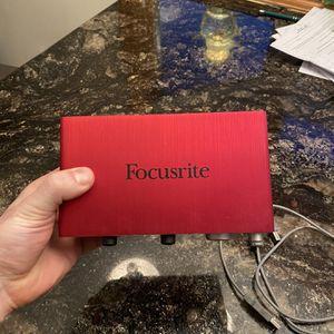 Focusrite Scarlett 2i2 for Sale in Massapequa, NY