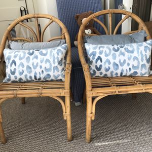 Pair Of Vintage Bamboo Chairs for Sale in West Palm Beach, FL