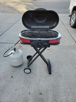 Coleman grill with tank for Sale in Kennewick,  WA