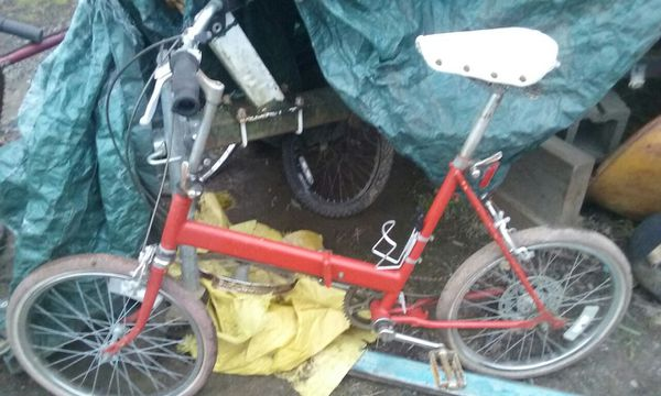 Folding Bike 5 speed {contact info removed}