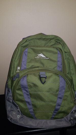 High Sierra backpack for Sale in Elgin, IL