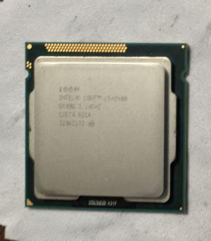 Intel Corei5-2400 Quad-Core Processor3.1 Ghz 6MB Cache LGA 1155 for Sale in Los Angeles, CA
