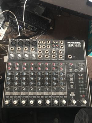 Mackie 1202- vlz3 premium mic/ line mixer for Sale in Washington, DC