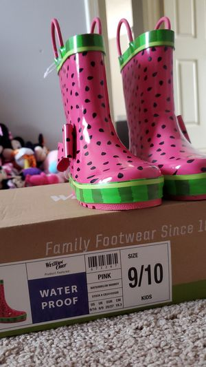 Western Chief watermelon print rain boots girls for Sale in Raleigh, NC