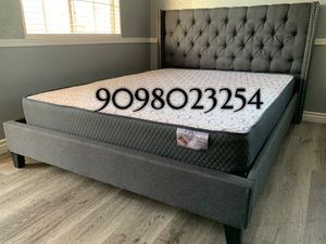 QUEEN BEDS W ORTHOPEDIC MATTRESS INCLUDED for Sale in Hawaiian Gardens, CA