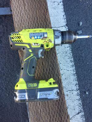 Ryobi cordless drill for Sale in Oakland, CA