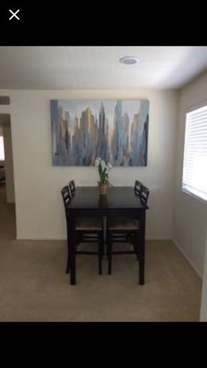 Dining Table with bar stools for Sale in San Diego, CA
