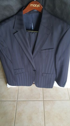 GERMAN SUIT SET IN JACKET SIZE 44L AND PANS IN SIZE 38X30 IN 100% PURE WOOL SHIRT INCLUDED FOR FREE for Sale in Lehigh Acres, FL