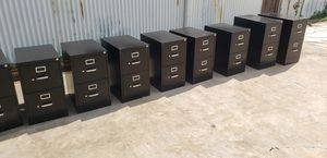 2DRAWERS VERTICAL FILE CABINETS FOR SALE!!!!.....EACH for Sale in Houston, TX