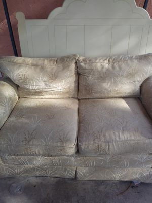 Free sofa and love seat. Not brand new but pretty good still for Sale in Stuart, FL