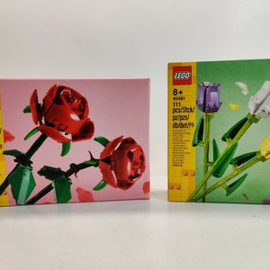 Lego 40460 Roses & 40461 Tulips for Valentine's Day for Sale in Alhambra, CA