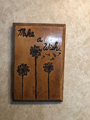 Wood Frame wish for Sale in Clarksburg, WV