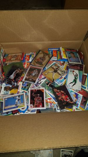 Sports cards- huge basketball cards , football cards , baseball cards around 20lbs, packs unopened. Lot #F for Sale in Roseburg, OR