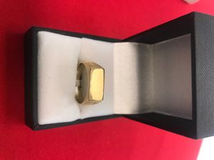 14k gold id plate ring 2910-139814427A-01 for Sale in Phoenix, AZ
