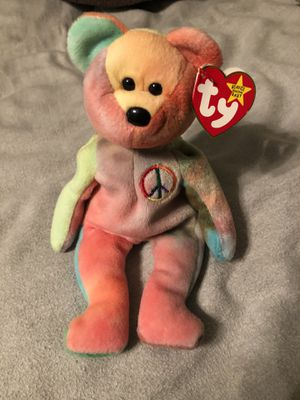 Rare 1996 peace beanie baby for Sale in Brooklyn, CT