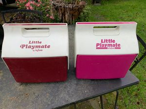 Little playmate igloo coolers for Sale in Norfolk, VA