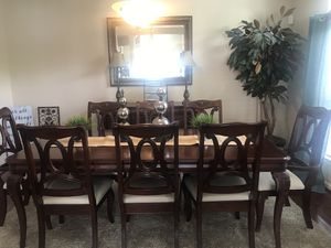 Formal Dining Room Table with 8 chairs and Buffet for Sale in VINT HILL FRM, VA