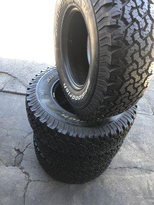 31/10.50R15 BFGoodRich KO tires (4 for $340) for Sale in Whittier, CA