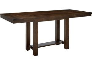 Ashley - Moriville Dining Room Table - Counter Height - Brown for Sale in Brecksville, OH