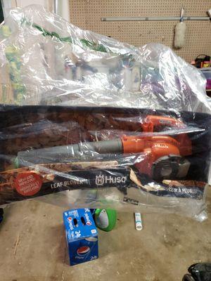 Kids husqvarna leaf blower toy 20 OBO for Sale in Medford, OR