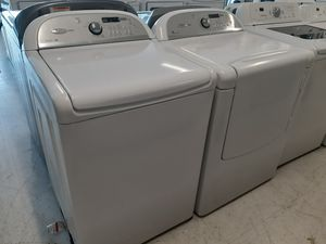 Whirlpool tap load washer and electric dryer set used in good condition with 90 day's warranty for Sale in Mount Rainier, MD