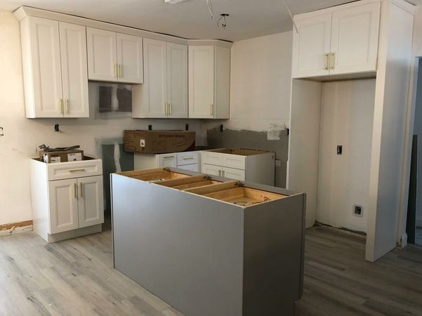 Kitchen Cabinets.