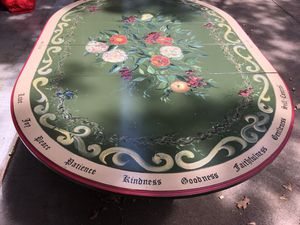 Hand painted vintage kitchen table for Sale in Arlington, TX