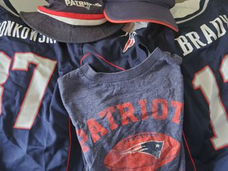 Official NFL patriots Toddler Gear Brady And Gronkoski for Sale in Casselberry,  FL