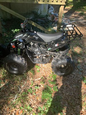 125cc four wheeler semiautomatic with neutral and reverse for Sale in College Park, GA