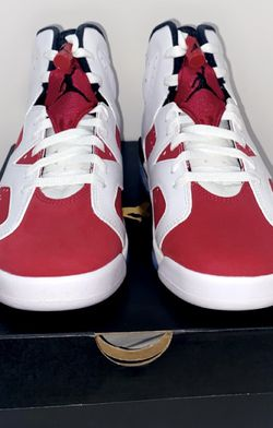 New Nike Air Jordan 6 Retro Carmine GS size 6Y Women's size 7.5 for Sale in Woodburn,  OR