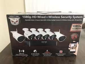 Night Owl 1080p Wireless Security System for Sale in San Mateo, CA