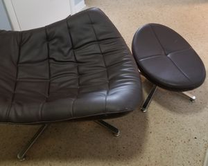 Cool. Contemporary. Comfy Chair and Stool for Sale in Lake Worth, FL