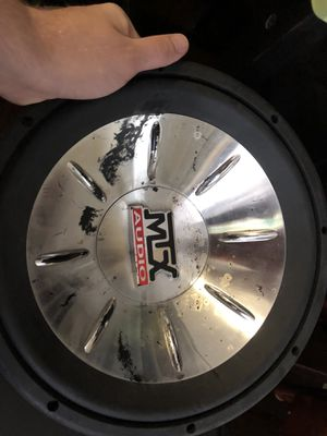 "MTX 12"" Subwoofer for Sale in Tampa, FL"