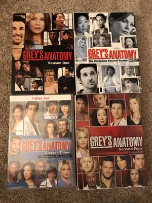 Grey's Anatomy Seasons 1-4 for Sale in Richmond, VA