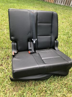 Folding black double bucket seats.. 12 available for Sale in Davie, FL