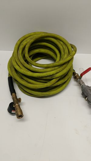 Air Hose with glad hand and pressure guage for Sale in Rocklin, CA
