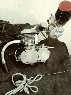 80cc motorbike kit with sports carb for Sale in Tampa, FL