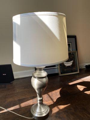 Silver lamp for Sale in Woodbridge, VA