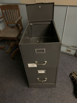 2 Drawer File Cabinet On Wheels for Sale in Lowell,  MA