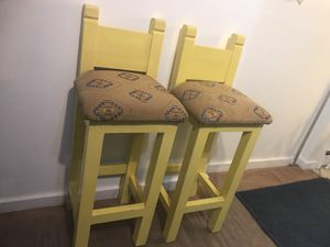 Only two made!!! Cherokee Native American print barstools/chairs for Sale in Clarksburg, MD