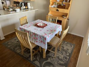 4 Chair table for Sale in Oceanside, CA