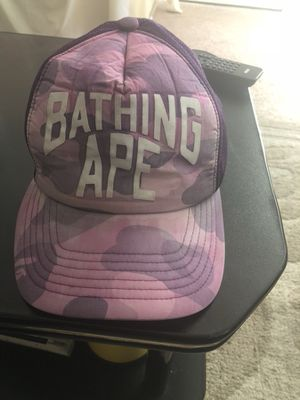 """Vintage a bathing ape trucker hat circa """"03 for Sale in Oxon Hill, MD"""