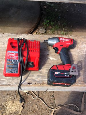 1/2 impact wrench set slightly used for Sale in Greenville, SC