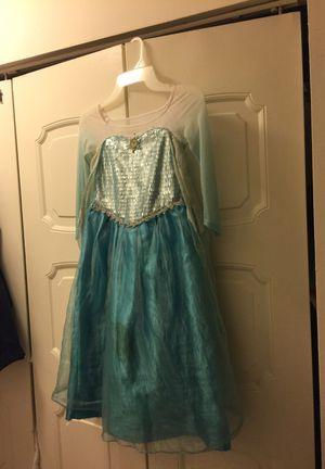 Disney princess dresses frozen Elsa. Original. Size 5/6 y.o. Value of $85. for Sale in Lincolnia, VA