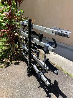 Thule 4 bike bike-rack - hitch attach for Sale in Hilo, HI
