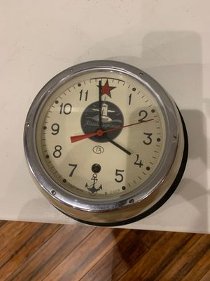 Antique Russian ship s clock for Sale in Huntington Beach, CA